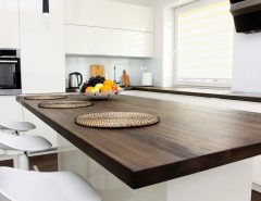 wood-look countertop