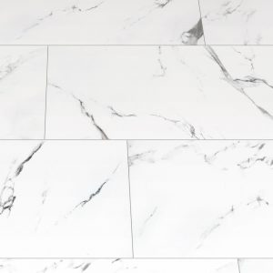 wet room large format marble tile