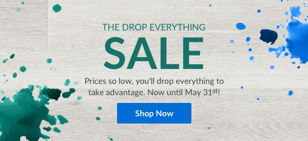 the drop everything sale