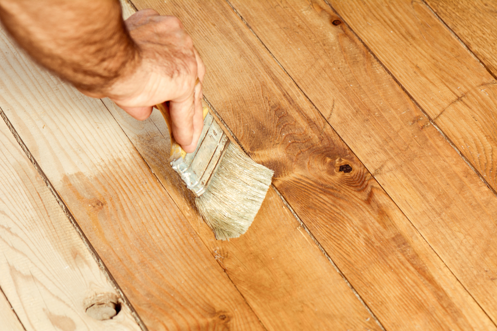 Refinishing, recoating, restoring hardwood floors