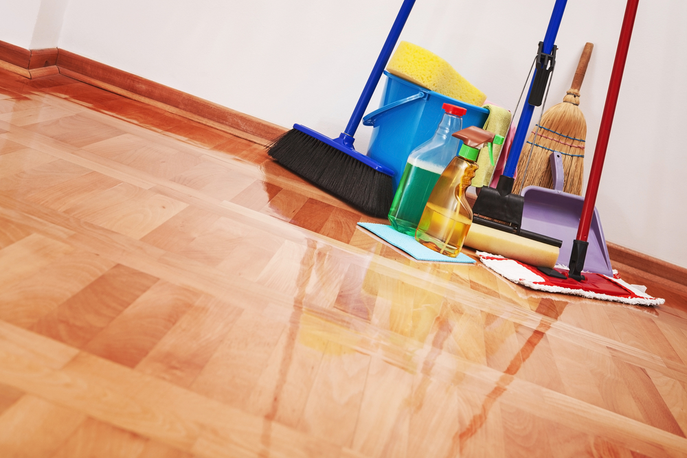 Hardwood Floor Cleaning Tools