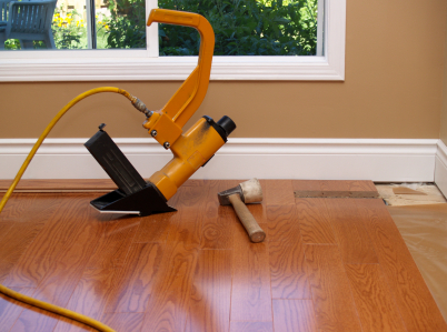 How to install hardwood floors nail down Wood floor installer
