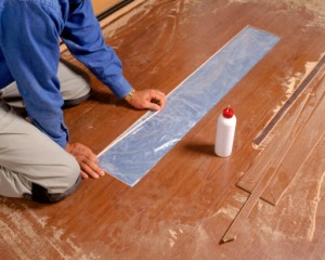 Replace Wood Flooring Plank