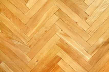 Herringbone Parquet Wood Floor - Top 5 Hardwood Flooring Installation Patterns