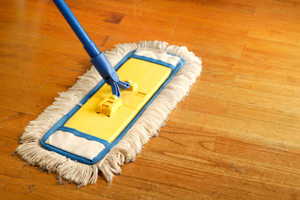 How to care for hardwood floors Dust mop for wood floors