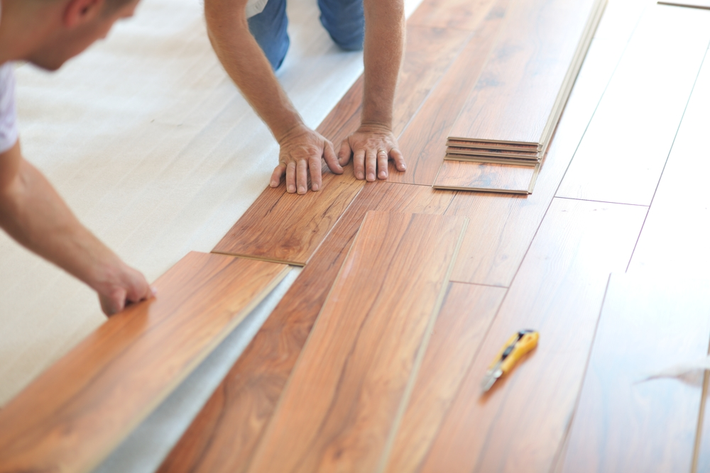 How to install laminate flooring infographic for Flooring installation