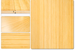 Vertical Bamboo Flooring, Natural