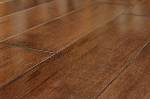 Hardwood w/ Micro Bevel Edge