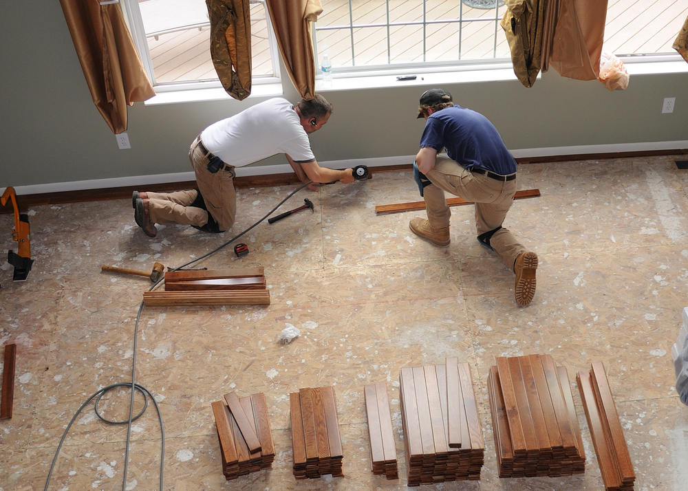 How To Install Hardwood Flooring Prepping A Wood Subfloor