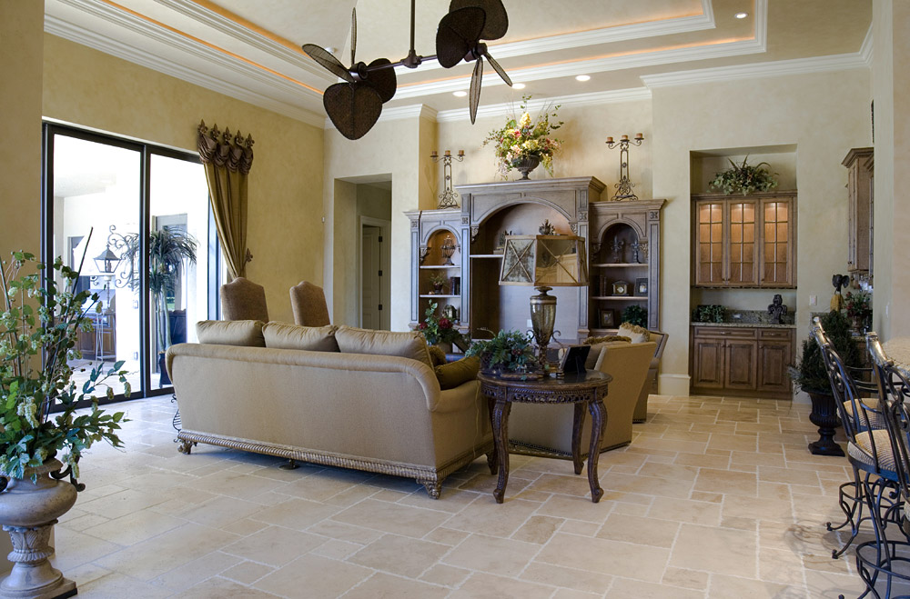 About Travertine Tile