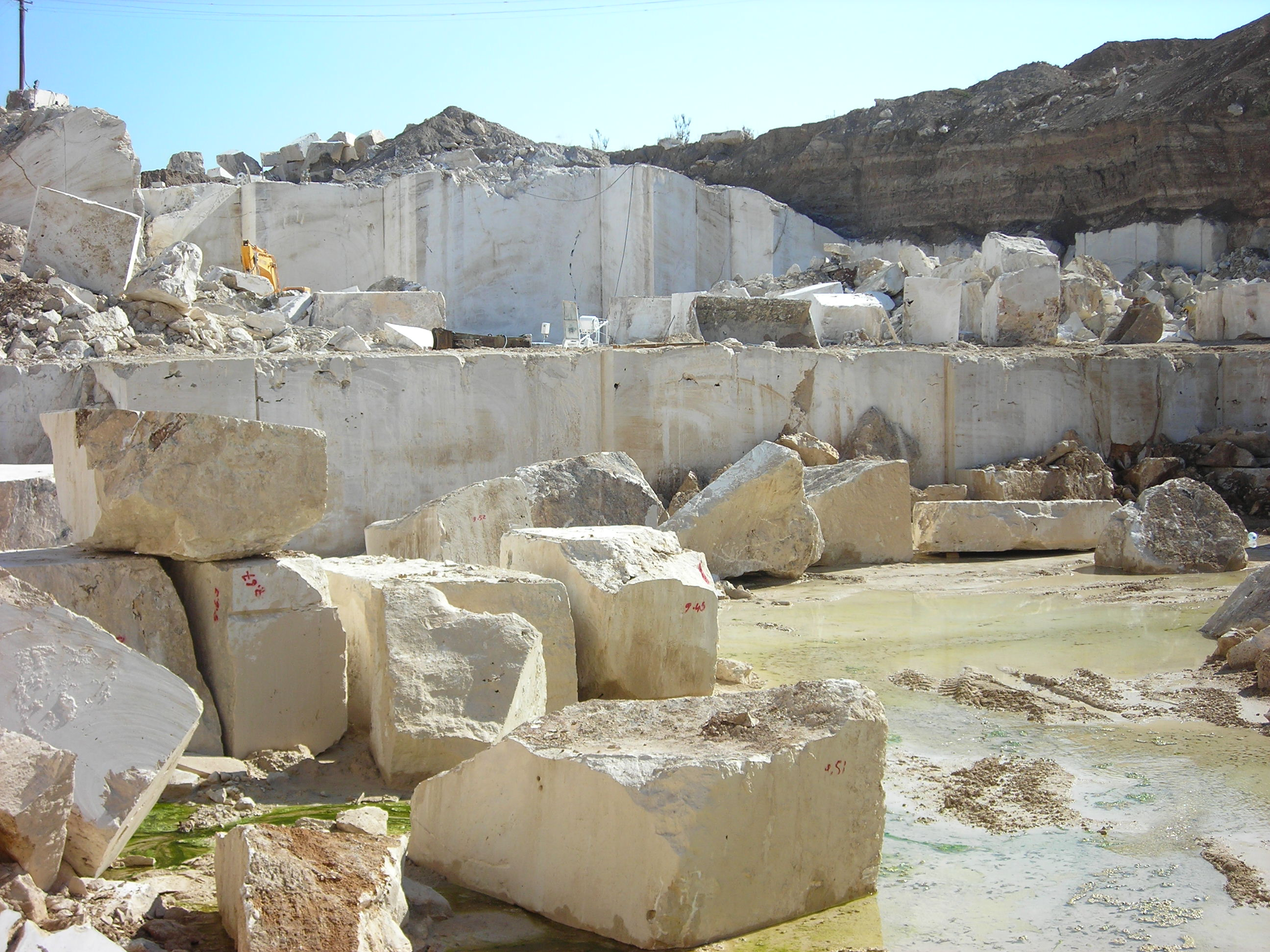 How Is Travertine Tile Made