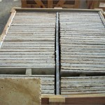 travertine tile pallet packing