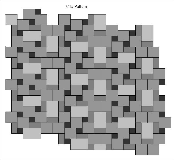Villa Pattern Tile Layout Sample