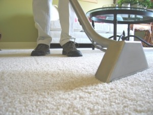 Carpet Cleaning with Steam Cleaner