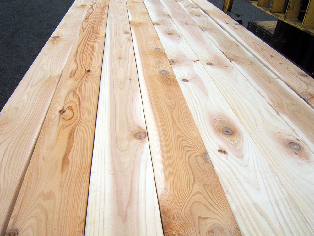 Wood Deck Boards ~ Wood decking grades and terminology