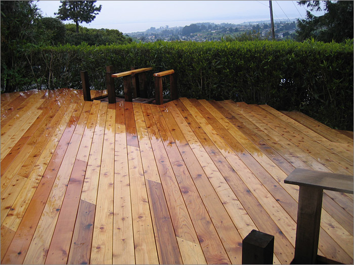 Types of wood decking for Outdoor decking boards