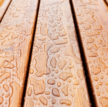 composite deck surface