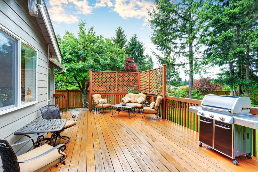 Wooden Deck Patio