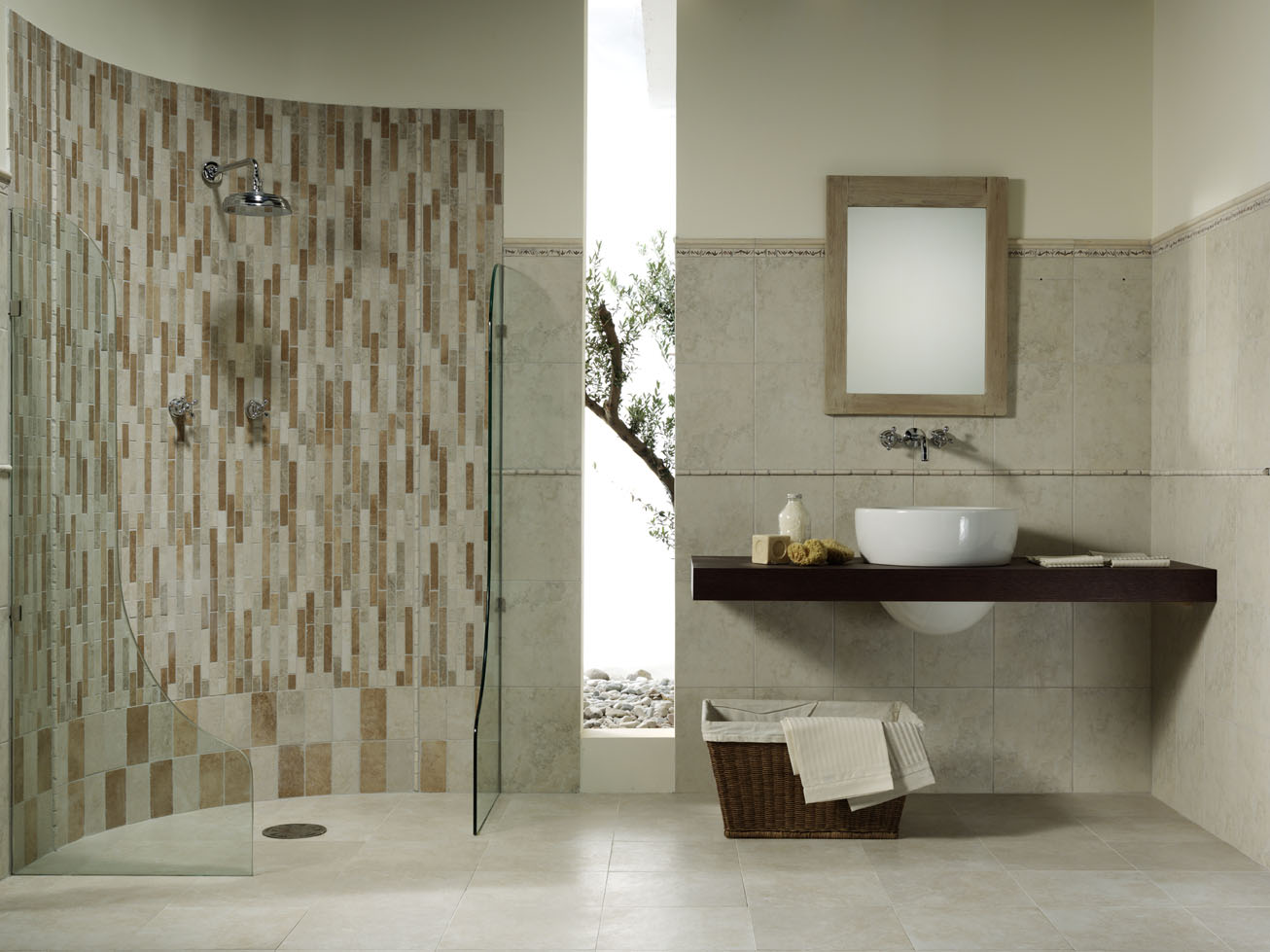 How to maintain porcelain ceramic tile bathrooms dailygadgetfo Choice Image