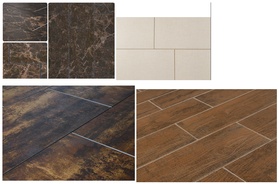 Porcelain & Ceramic Tile Styles