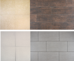 porcelain and ceramic tile montage