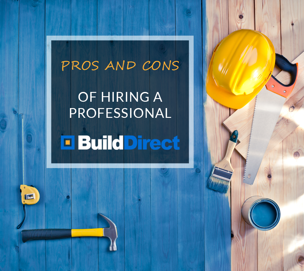 pros and cons of hiring installer