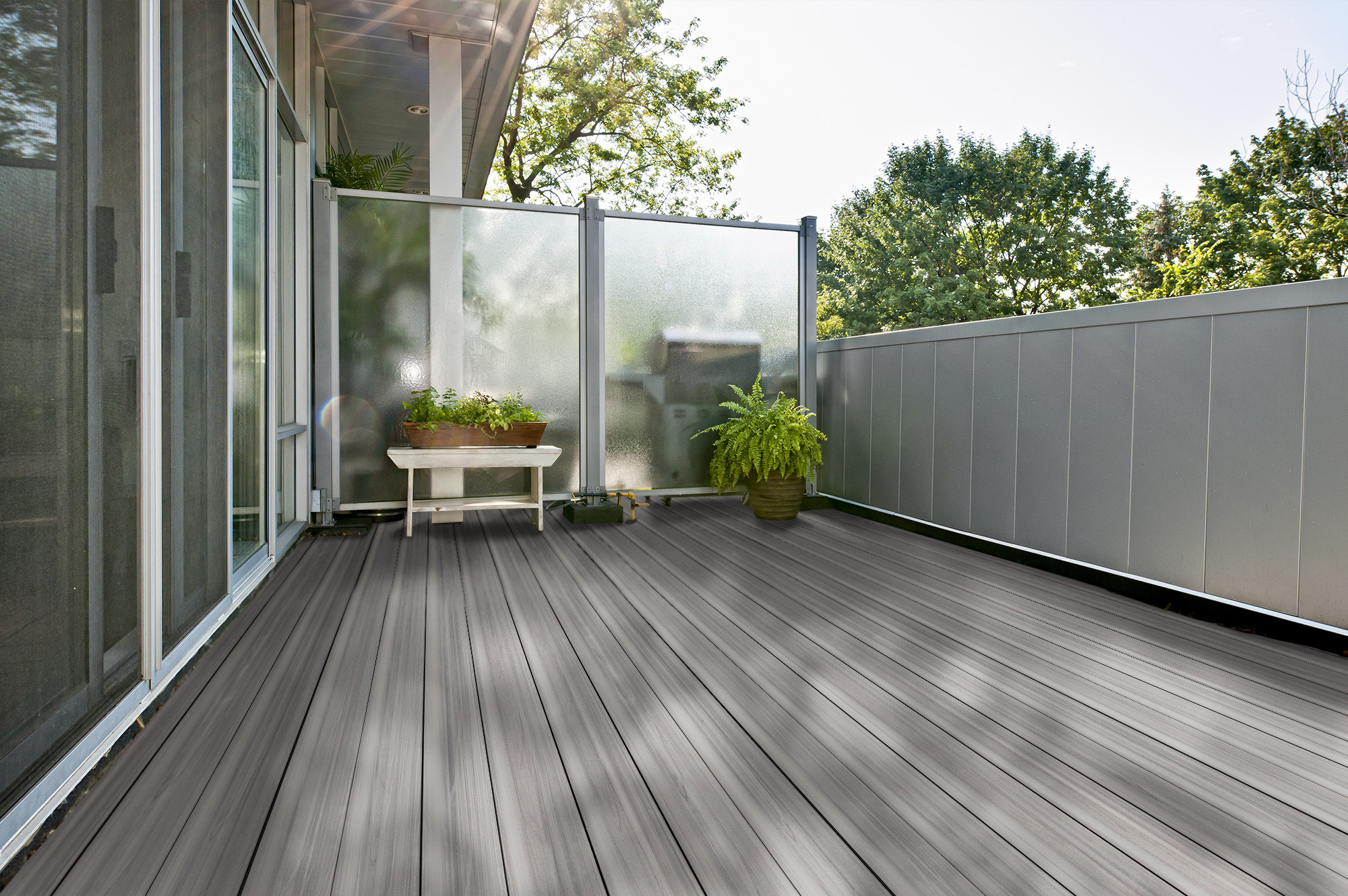 composite decking scratch repair