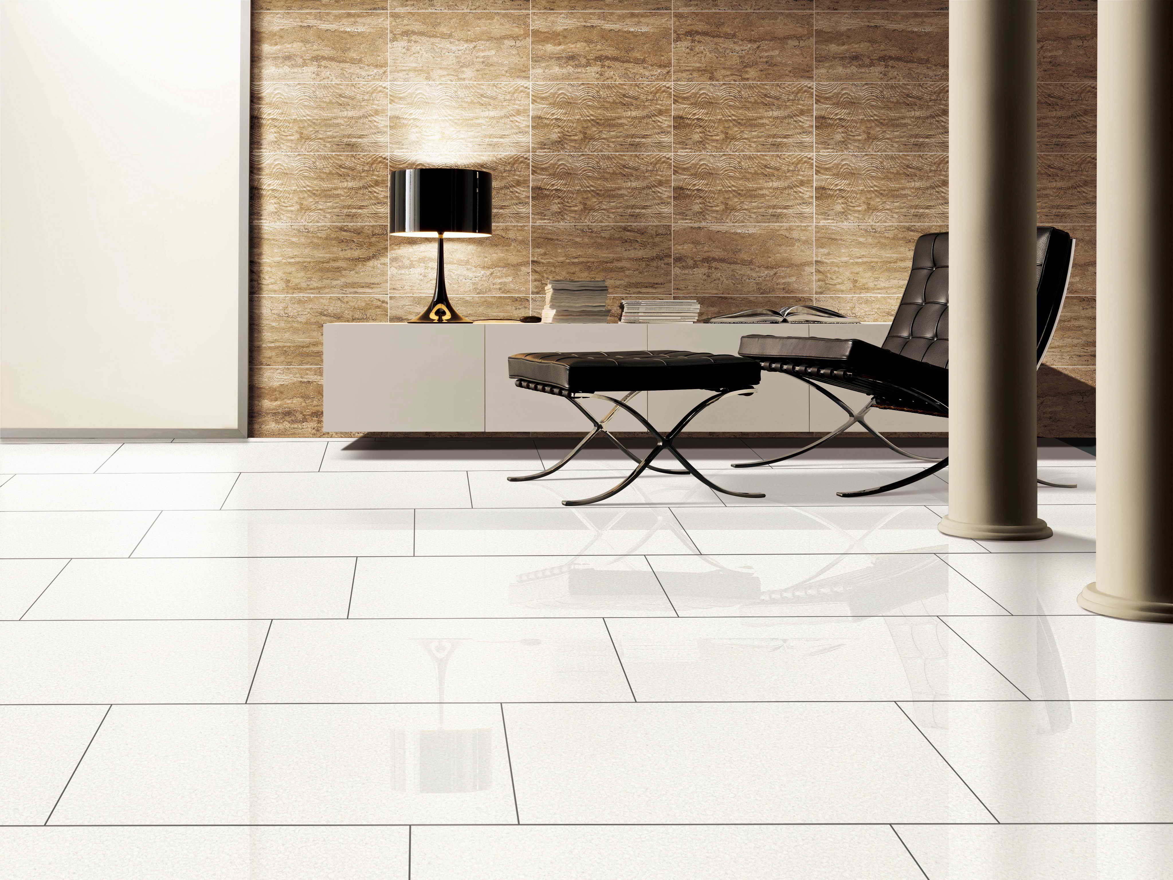How is porcelain tile rated for hardness for Porcelain floor tile durability