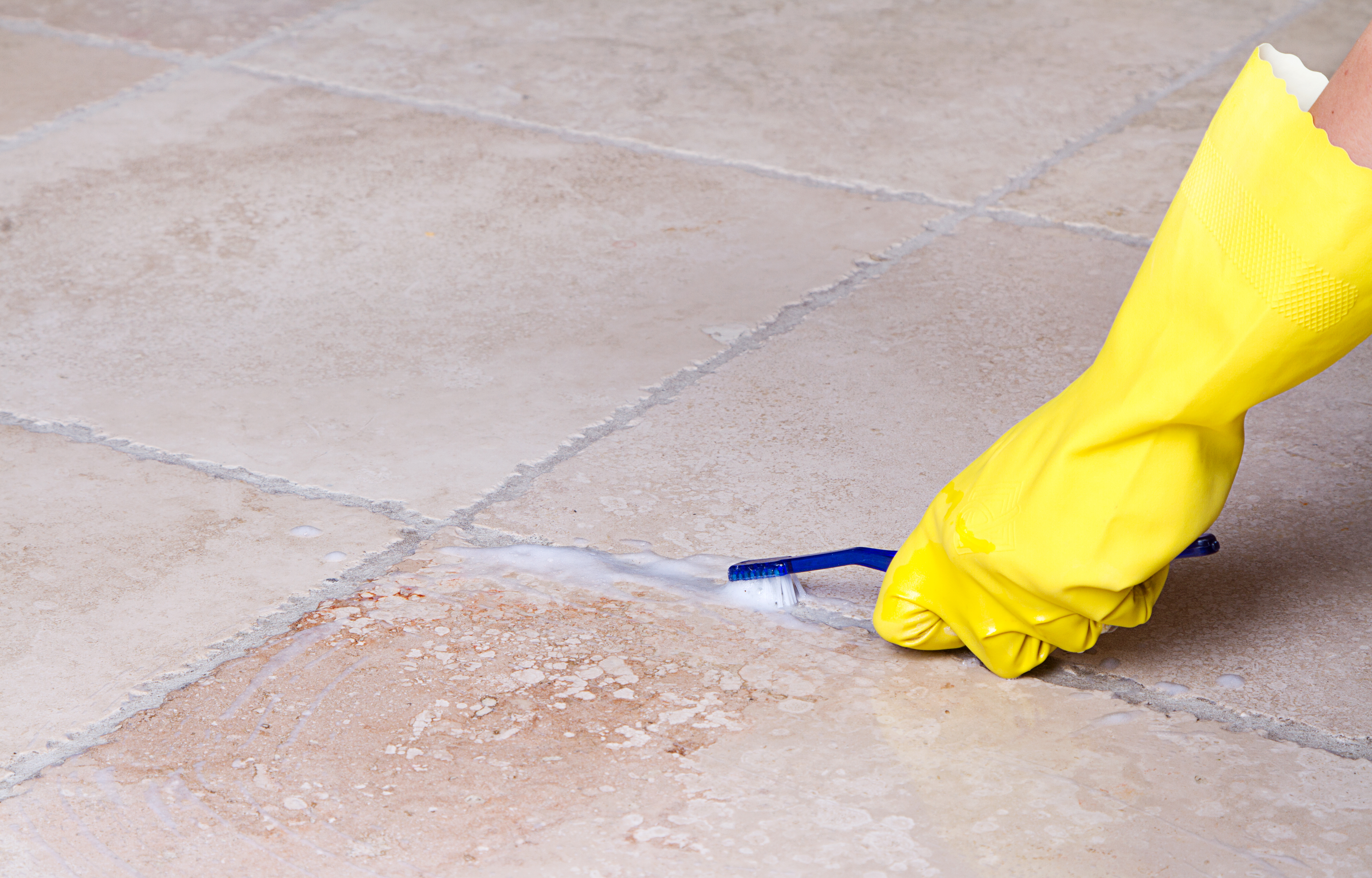 How To Remove Tough Stains From Ceramic And Porcelain Tile - Cleaning agent for tiles