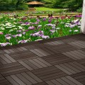 Measure your deck to plan how many deck tiles you'll need.