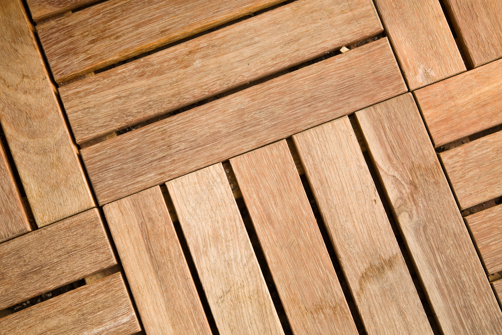 How To Install Wood Or Composite Deck Tiles