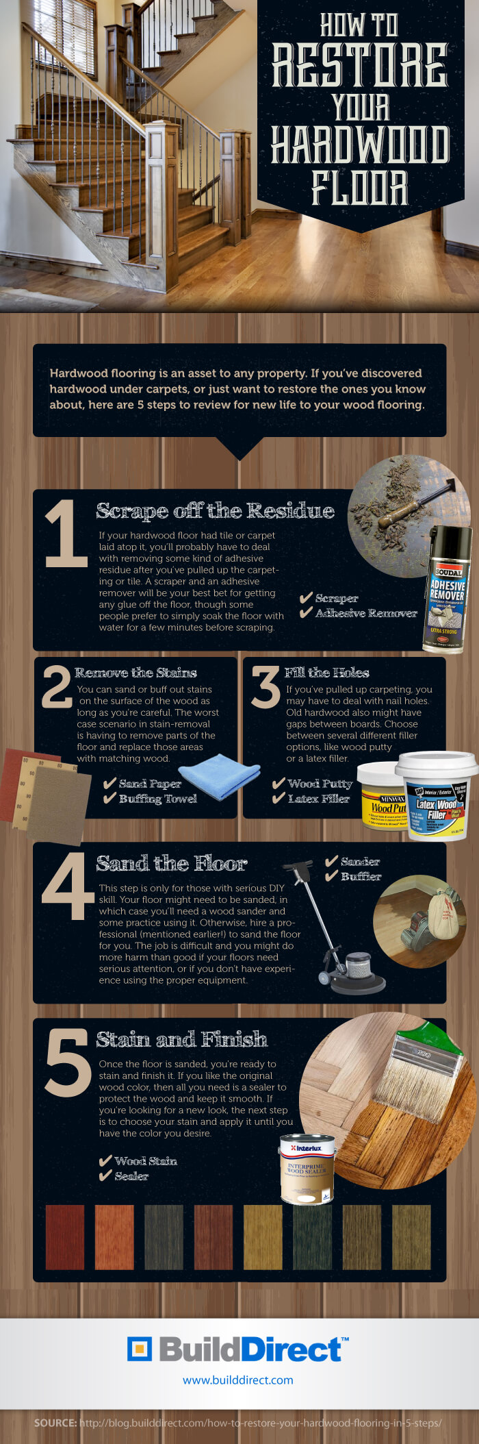 What steps do you take to keep your hardwood floors looking like new ...