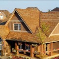cedar roofing offers a rustic or tailored look for your home's exterior.