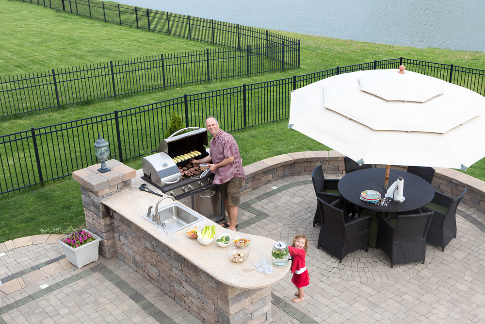 father-daughter-in-outdoor-kitchen