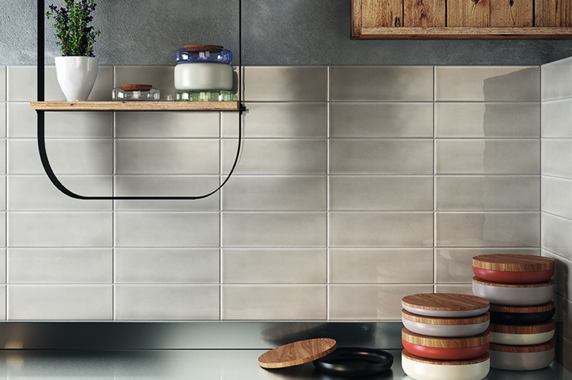How to Create a Kitchen Backsplash Using Ceramic or Porcelain Tile