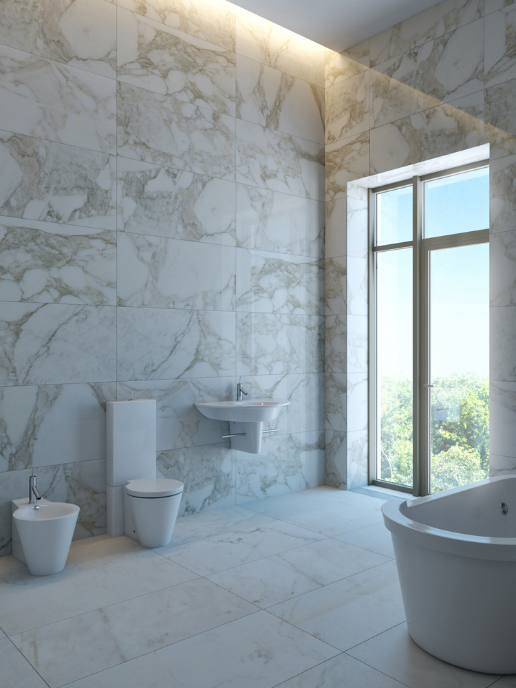 Marble vs. Travertine Tiles: What's the Difference?