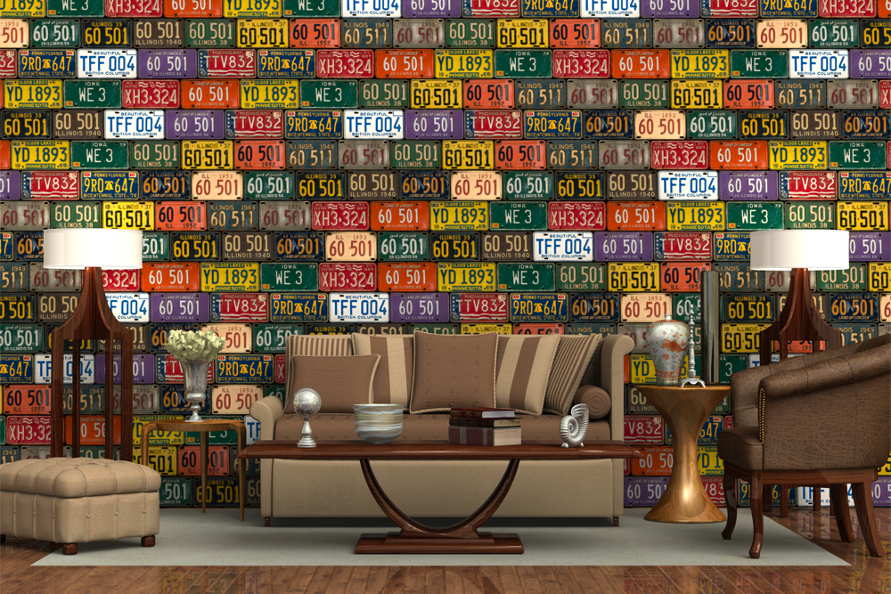 Residential-LicensePlates & Top 5 Ways Decorative Wall Paneling Will Improve Your Space
