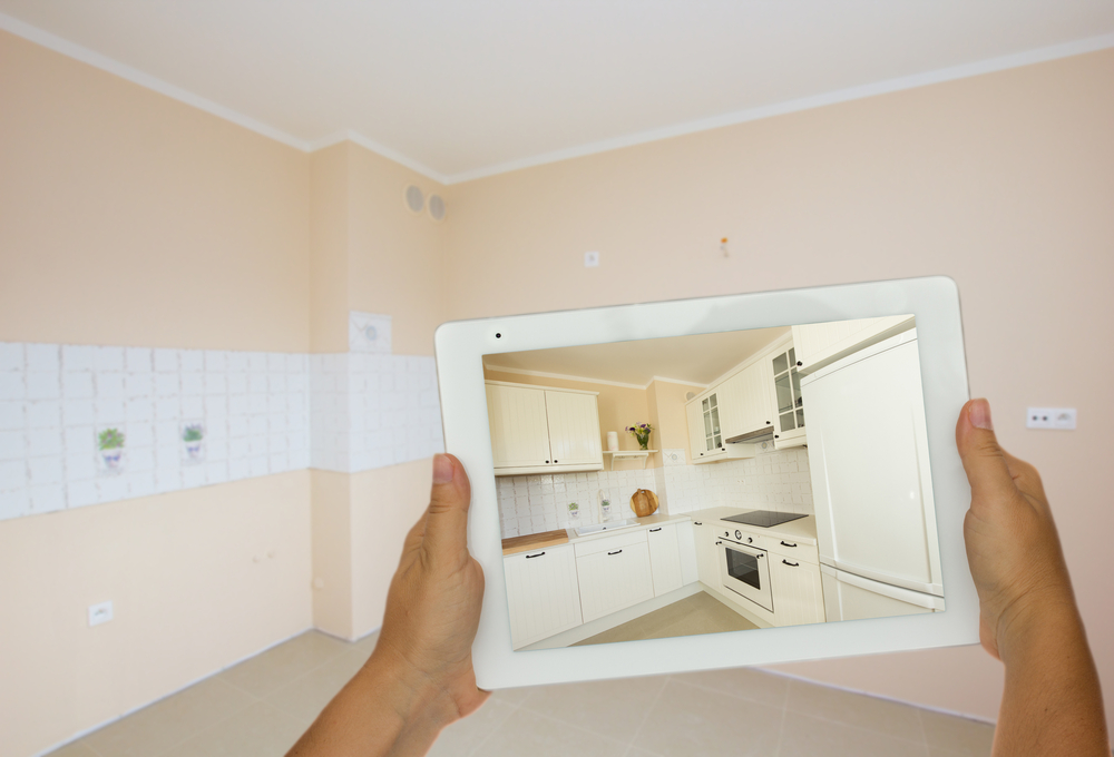 Plan Kitchen Renovation Tablet
