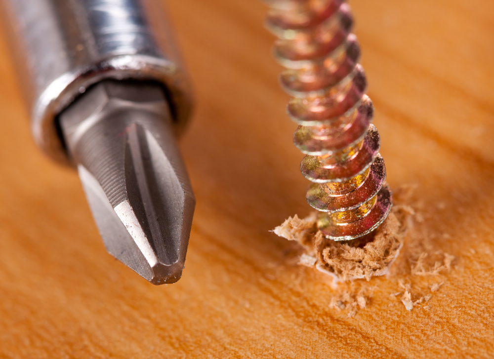screw-drilled-into-lumber