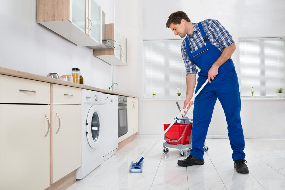 Charmant How To Clean Kitchen Floors