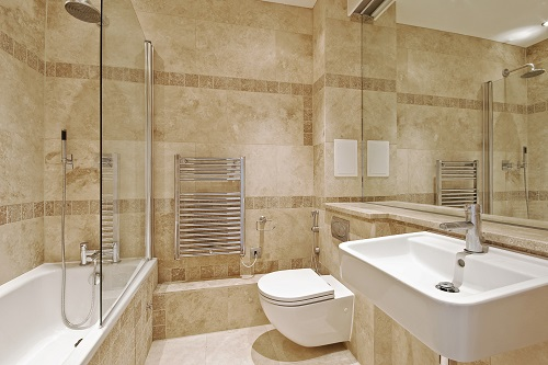 flooring ideas cheap bathroom options cons floor decor pros