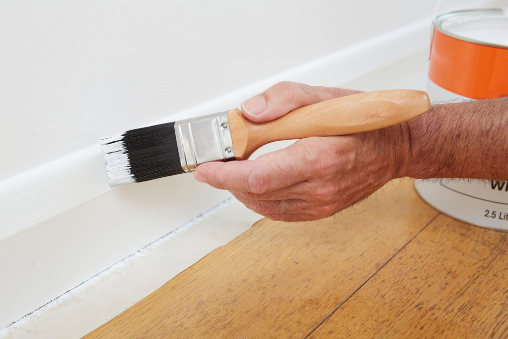 How to paint baseboards interior painting tips for Type of paint for trim