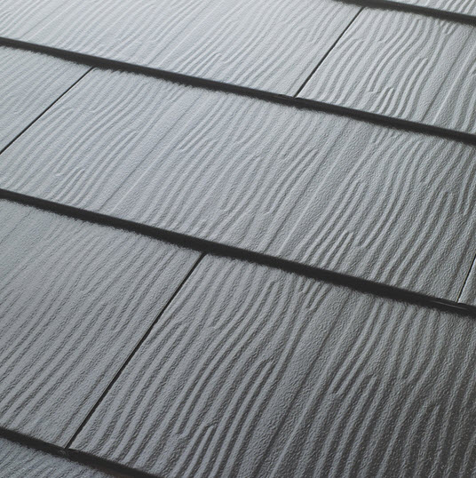 metal roofing close up