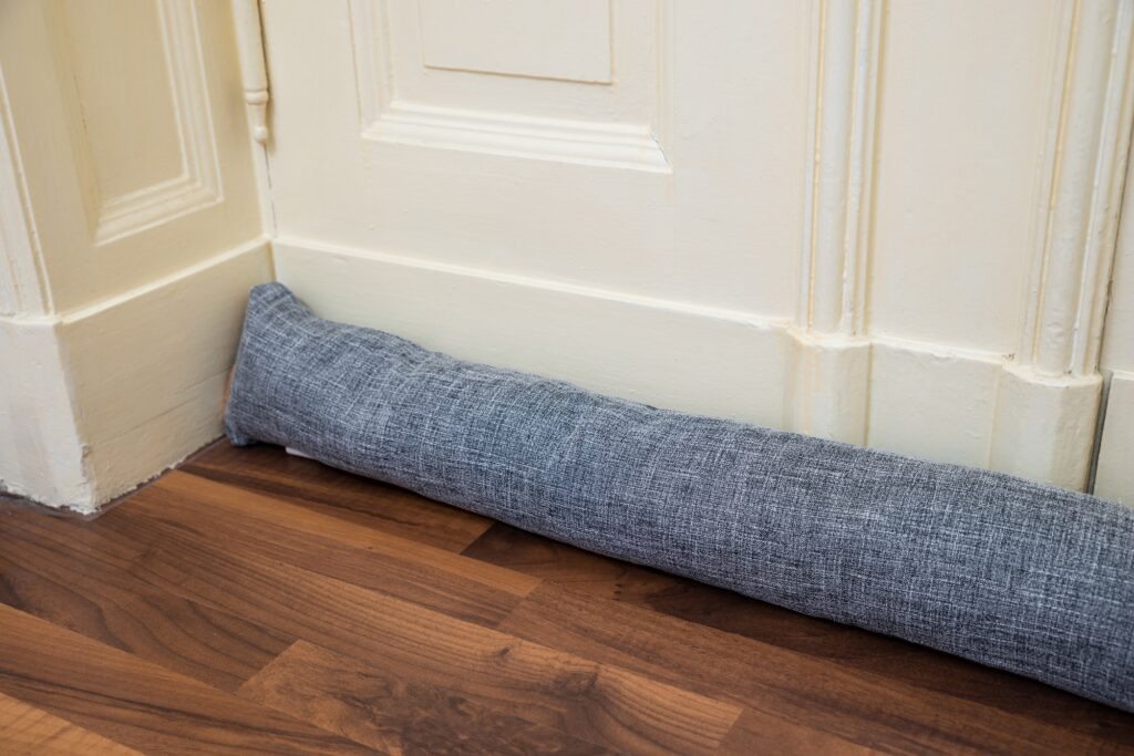 Winterizing your home draft excluder