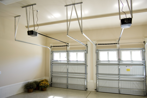 Garage door interior and openers