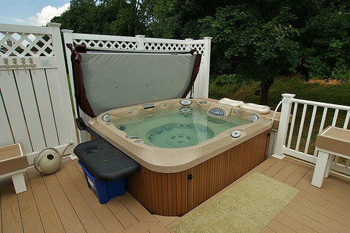 hot tub preparation for winter