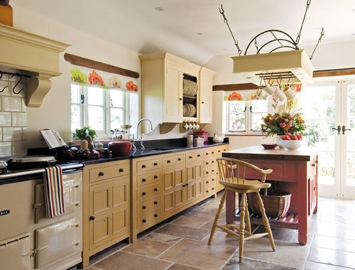 Eco-Friendly Furniture. A well-lit kitchen