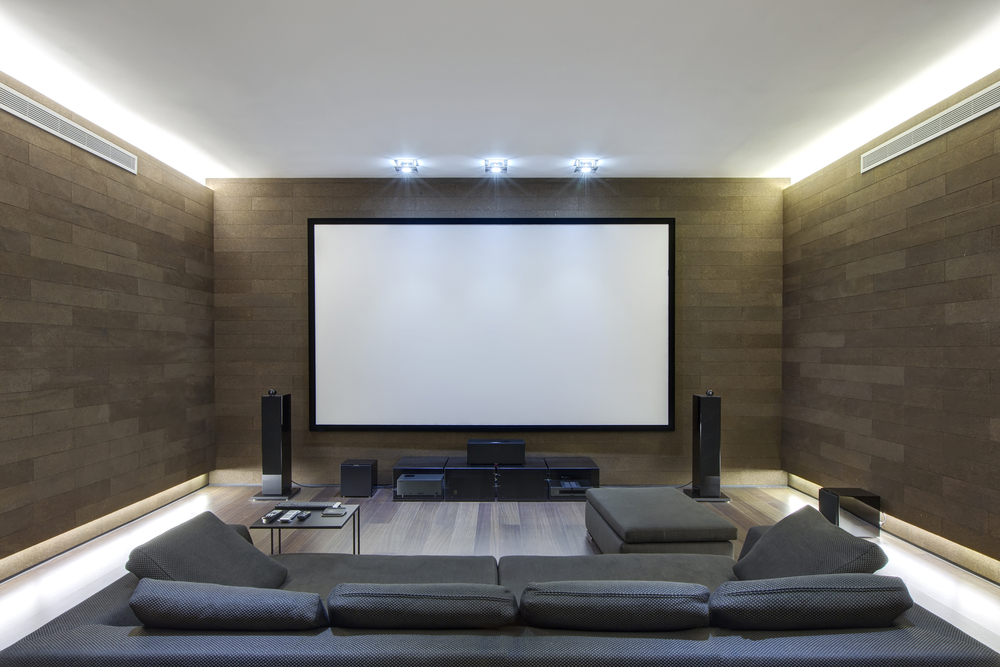 How to make your home theater the ultimate hosting room Home theatre room design ideas in india