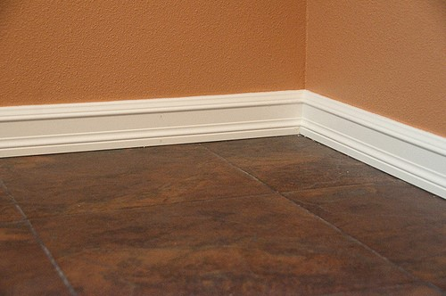 Floor Wood Baseboard : How to install and refinish baseboards