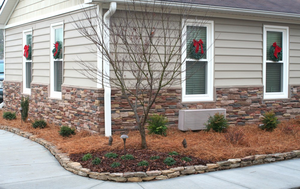 How to install manufactured stone veneer siding for Stone facade siding